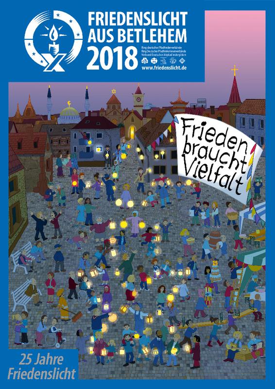 Friedenslicht aus Bethlehem   Pfarrei Schifferstadt, Bistum Speyer